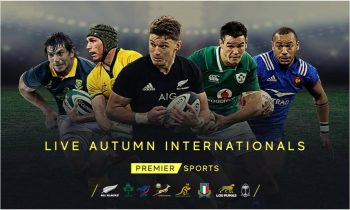 Premier Sports picks up Autumn Internationals rights