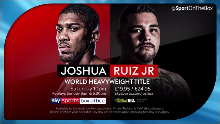 Joshua V Ruiz Jr Live On Sky Sports Box Office Sport On