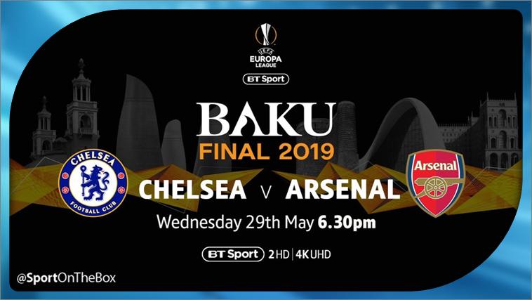 Uefa Europa League Final 2019 Live On Bt Sport Sport