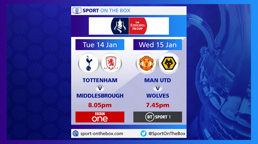Bbc Bt Sport Confirm Live Fa Cup 3rd Round Replays Sport On