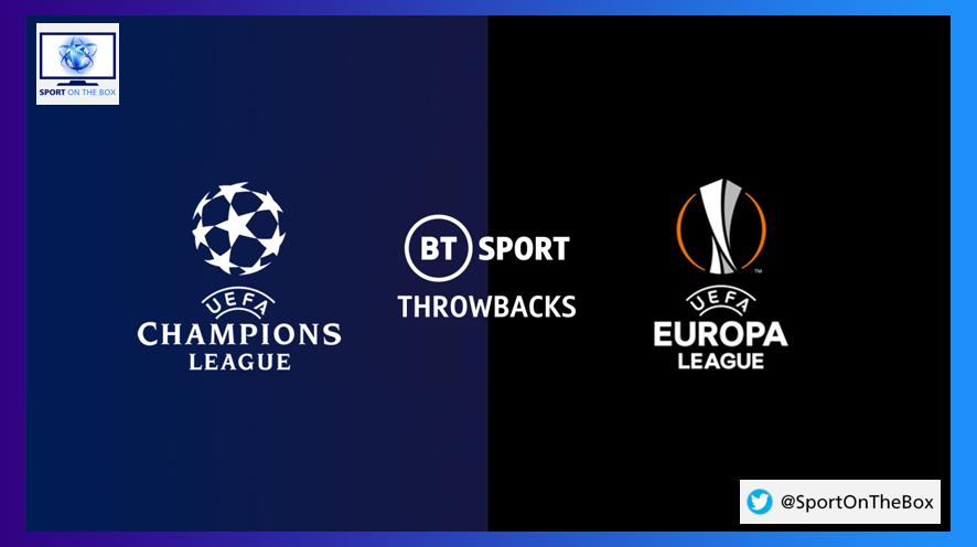 champions league europa league throwbacks on bt sport sport on the box europa league throwbacks on bt sport